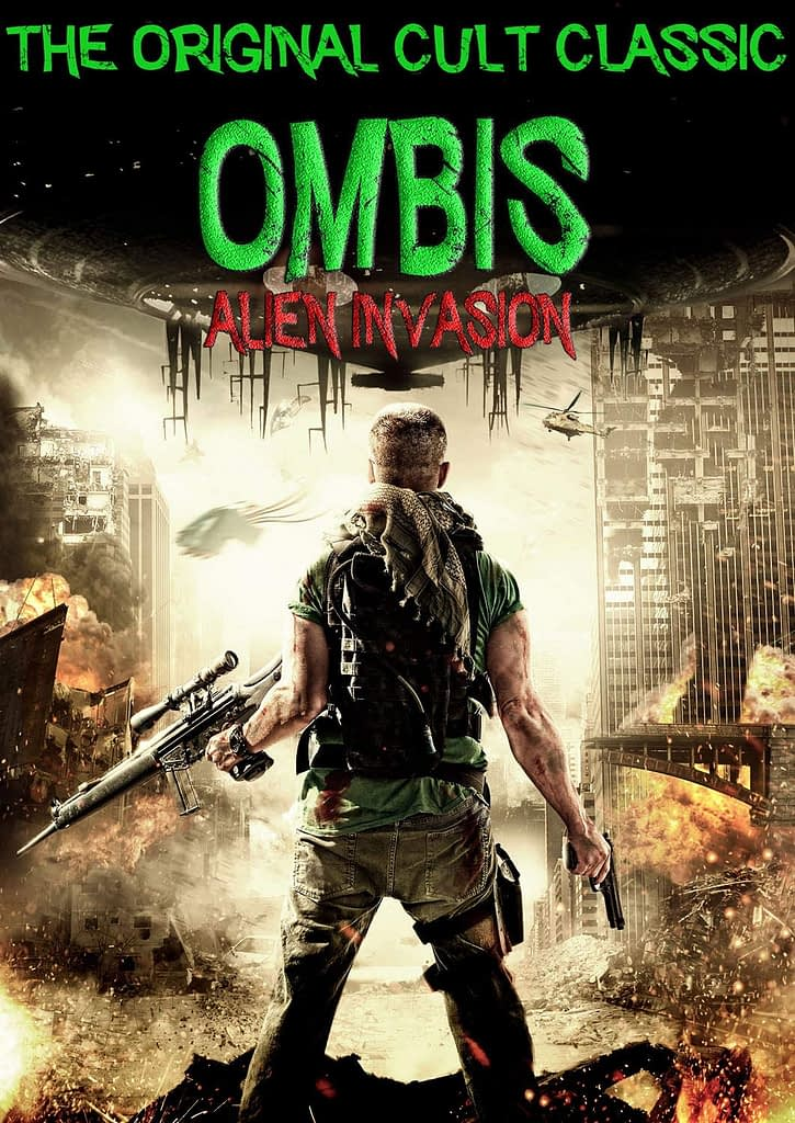 Poster for the feature film Ombis: Alien Invasion